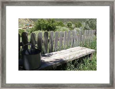 Idaho Farm2 Framed Print by Cynthia Powell