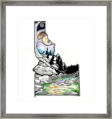 Idaho Framed Print