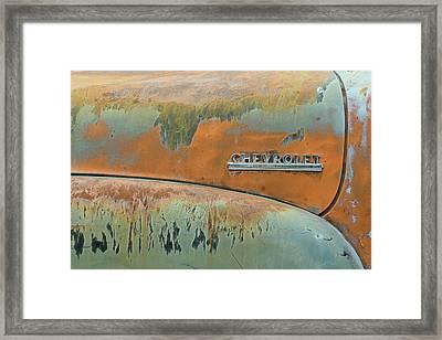 Idaho Rust Framed Print