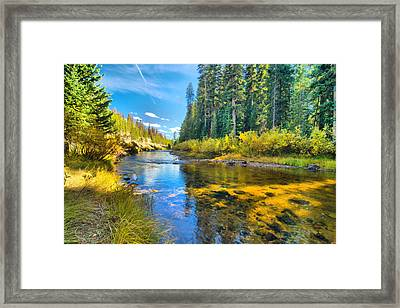 Idaho Stream 2 Framed Print