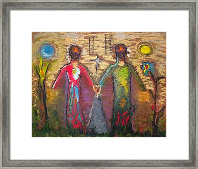 Ideal Framed Print by Erika Brown