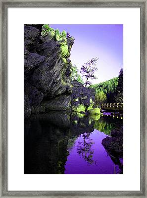 Ideal Manipulated Framed Print by Cassandra Wessels