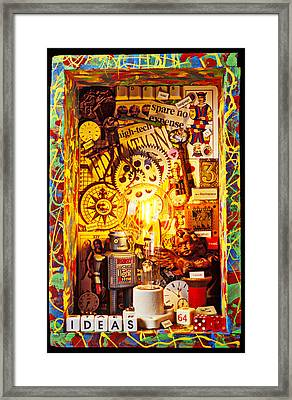 Ideas Framed Print by Garry Gay