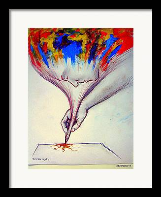 Intuitive Knowledge Framed Prints