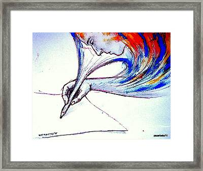 Ideas In Images Framed Print by Paulo Zerbato