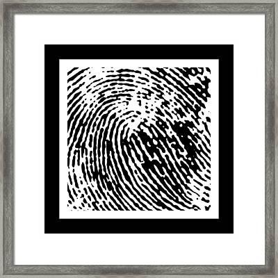 Identity 1 Framed Print by David April