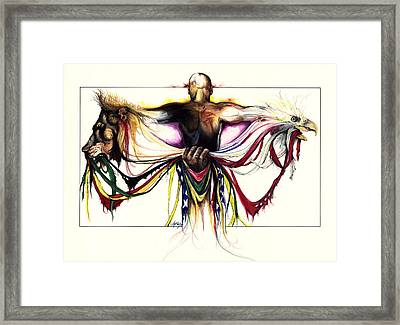 Identity Crisis Framed Print by Anthony Burks Sr