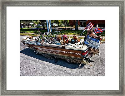 Identity Crisis Framed Print by Christopher Holmes