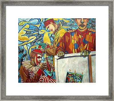 Identity Crisis Framed Print by Jonathan Franklin