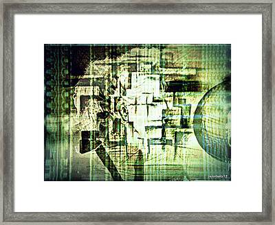 Identity In Uninterrupted Mutation Framed Print by Paulo Zerbato