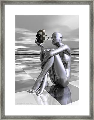 Identity Framed Print by Sandra Bauser Digital Art