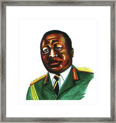 Idi Amin Dada Framed Print