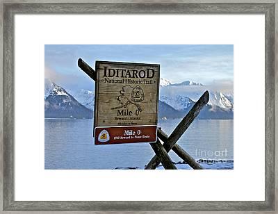 Iditarod Framed Print