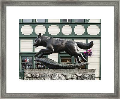 Iditarod The Last Great Race Framed Print