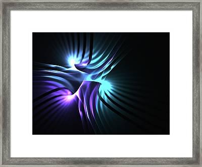 Idle Hands Framed Print