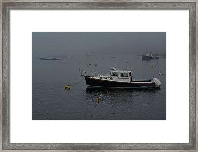 Idle Harbor Framed Print