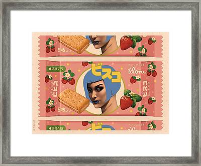 Idoru Sweets Framed Print