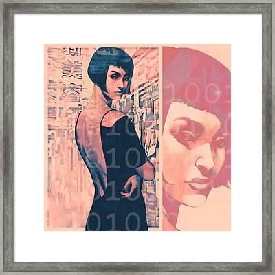 Idoru Framed Print by Udo Linke