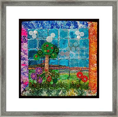 Idyllic Childhood Framed Print