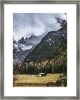 Idyllic Farm Framed Print