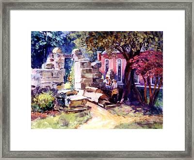 Idyllic Landscape Framed Print
