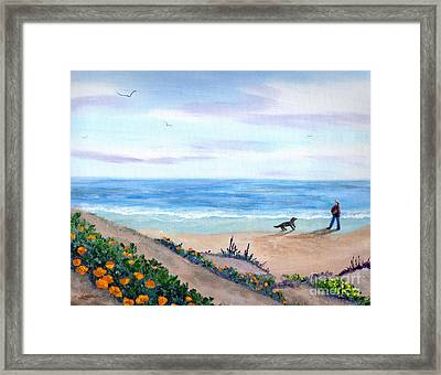 Idyllic Morning Framed Print by Laura Iverson