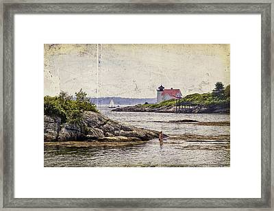 Idyllic Summer Days Framed Print