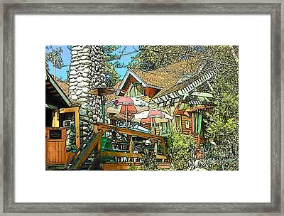 Idyllwild - Cafe Aroma Framed Print