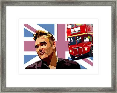 If A Double Decker Bus Framed Print by Mal Bray