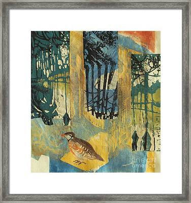 If All The World Were Paper Framed Print by Sandra Haney