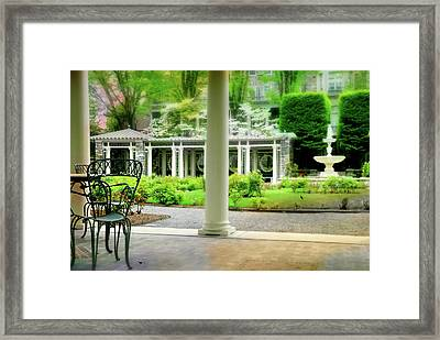 If By Chance Framed Print by Diana Angstadt