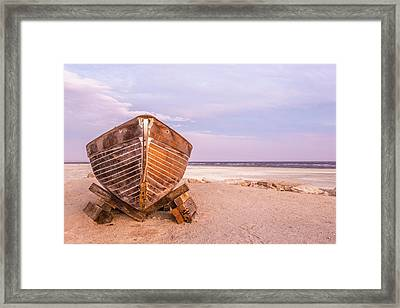 Framed Print featuring the photograph If I Had A Boat by Peter Tellone