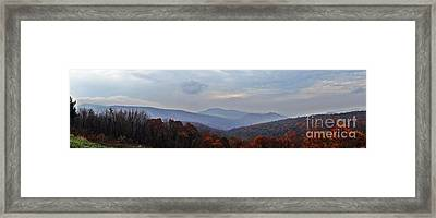 If I Were A Bird    Shenandoah Nation Park Framed Print