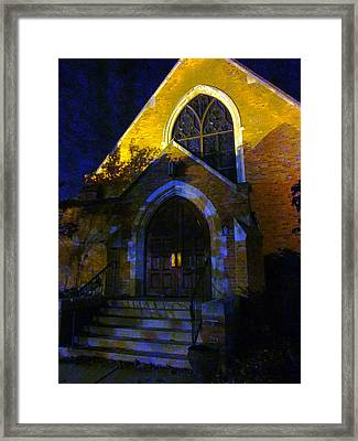 If Longer Nights Grow Longest Framed Print by Guy Ricketts