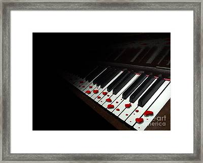 If Music Be The Food Of Love... Play On Framed Print