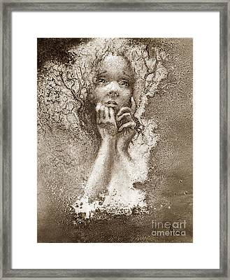 If Only For Today Framed Print by Rick Moore