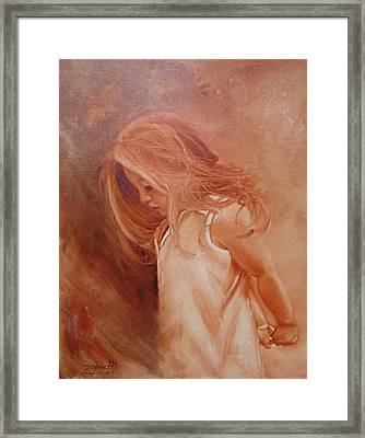 If Only Framed Print by Laura Lee Zanghetti