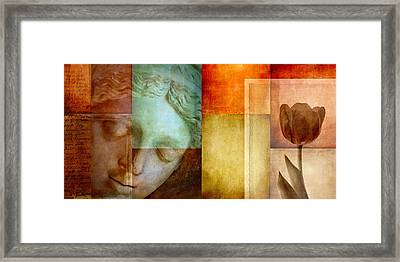 If Only Words Could Say Framed Print