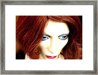 If Only You Could Read My Mind Framed Print by Jez C Self