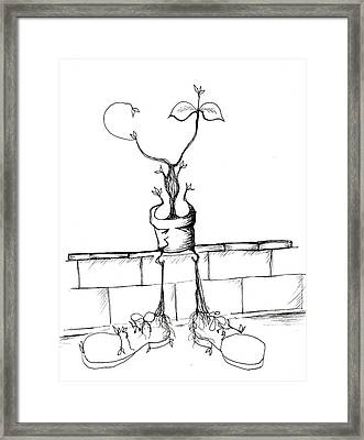 If The Shoe Fits Framed Print