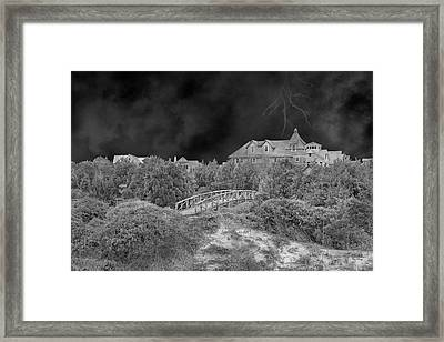 If The Thunder Don't Get You Framed Print by Betsy Knapp