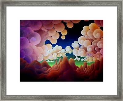If There But For A Moment Framed Print by Richard Dennis