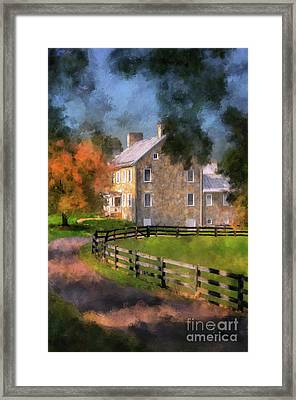 If These Walls Could Talk  Framed Print