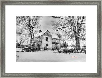 If These Walls Could Talk Framed Print by Von Cook