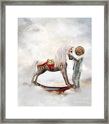 If We Believe Framed Print by Shanina Conway
