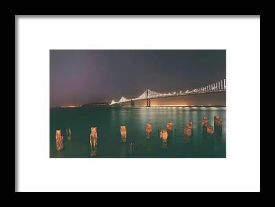 San Francisco Embarcadero Framed Prints