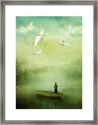 If Wishes Were Wings Framed Print by Silas Toball