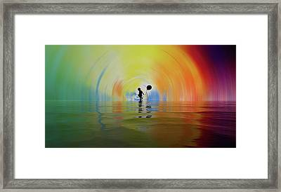 If You Are Reading This... Congratulations... You Are Alive Framed Print by Sir Josef - Social Critic -  Maha Art