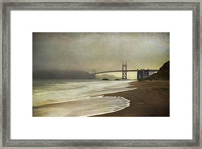If You Could Just Stay Framed Print