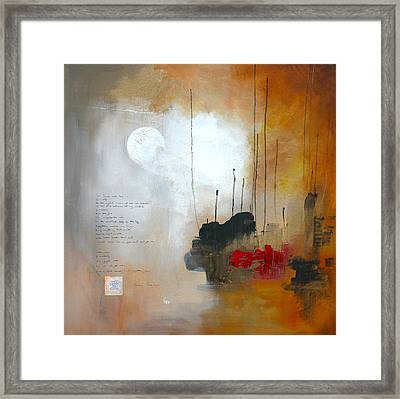 If You Forget Me Framed Print